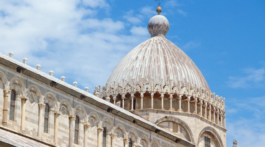 Cathedral of Pisa featuring heritage architecture, heritage elements and a church or cathedral