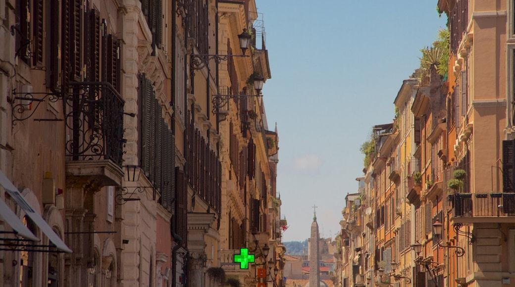 Piazza di Spagna which includes heritage architecture
