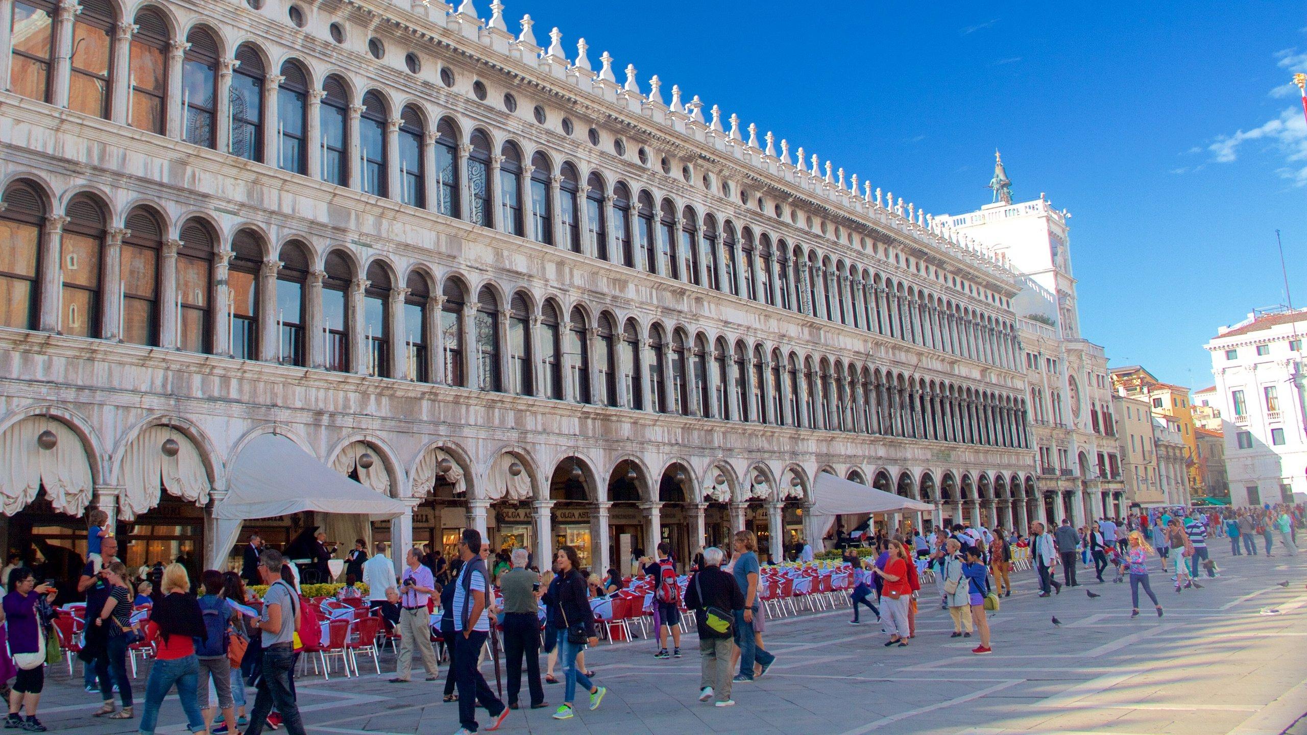 Die neuen Prokuratien, Venedig, Veneto, Italien