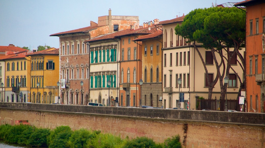 Pisa featuring heritage architecture