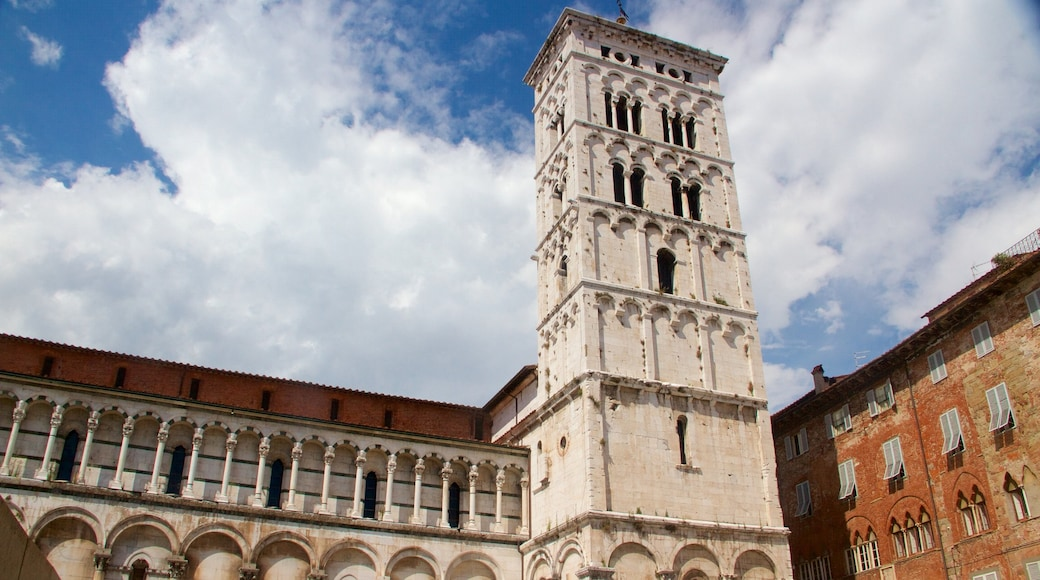 Eglise San Michele in Foro montrant patrimoine architectural