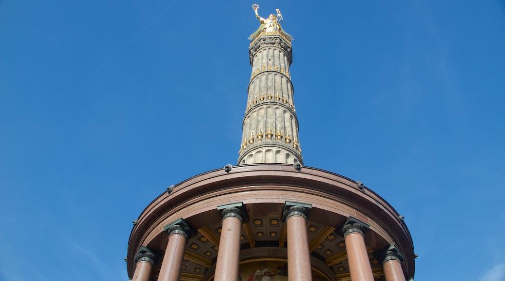 Siegessäule das einen Statue oder Skulptur, Monument und Geschichtliches
