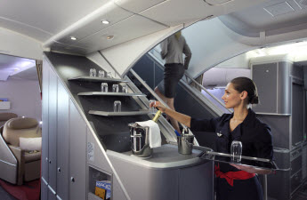 Billet d 39 avion air france vol pas cher sur for Interieur avion air canada