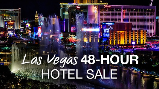 Las Vegas 48-hour hotel sale