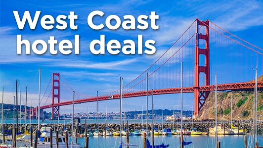 West Coast hotel deals