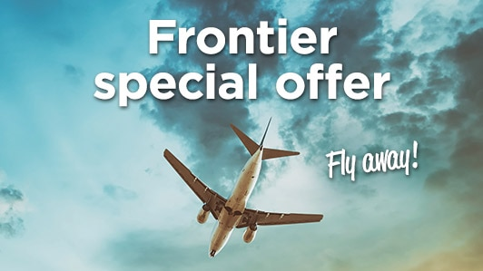 Frontier round-trip flights from $67