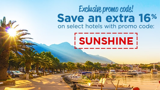 Exclusive promo code: SUNSHINE