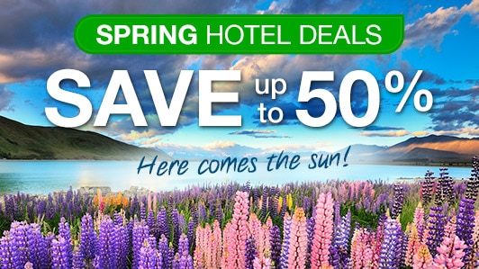 Spring hotel deals