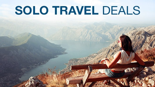 Solo travel deals