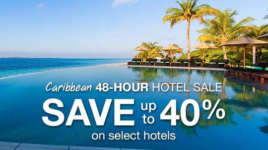 Caribbean 48-hour hotel sale