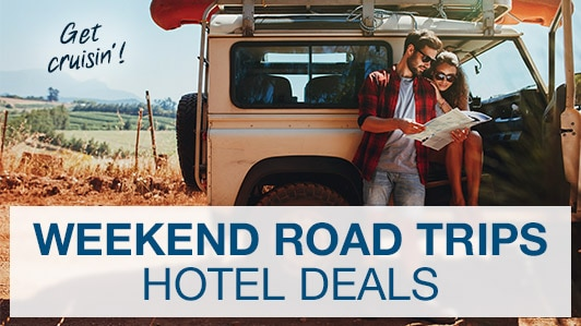 The weekend road trip sale-abration!