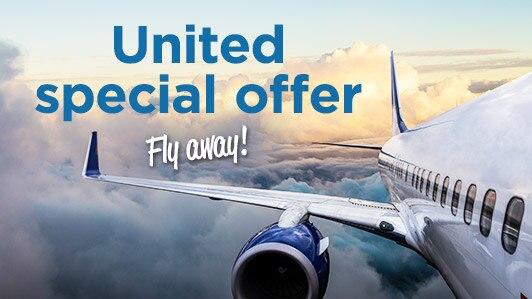 United round-trip flights from $91