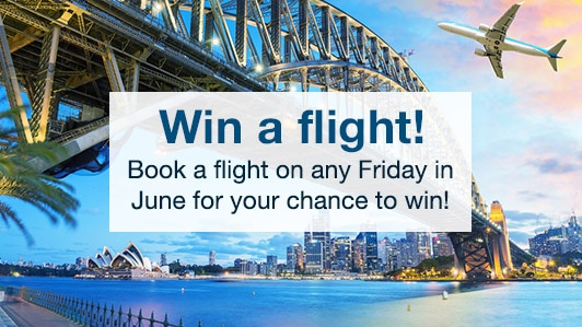 Win a FREE flight