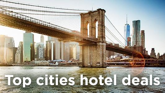 Top cities hotel deals