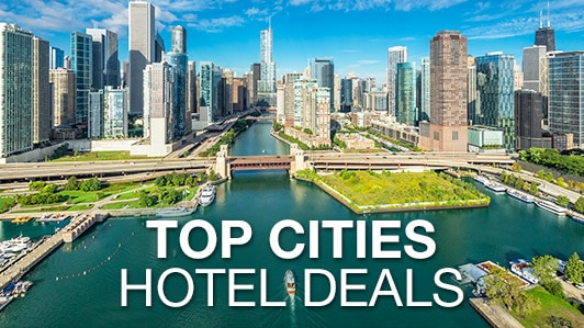 Top cities hotel deals