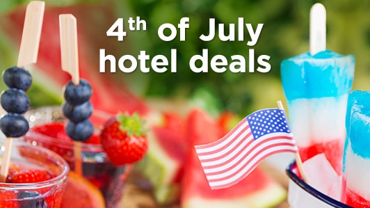 4th of July hotel deals