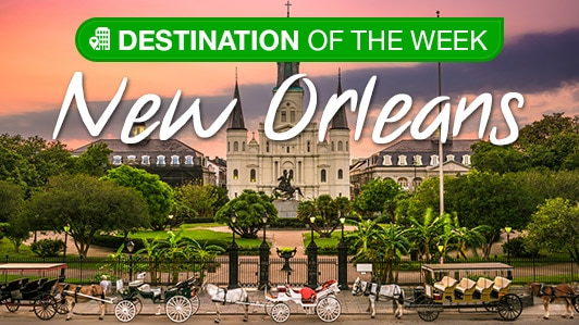 Destination of the week: New Orleans