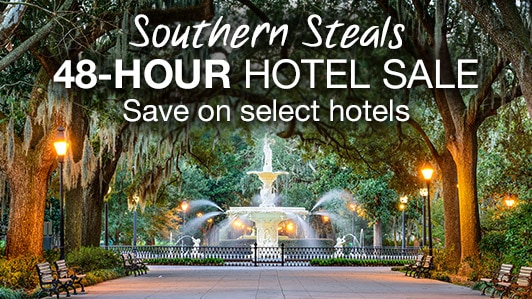 Southern steals 48-hour hotel sale