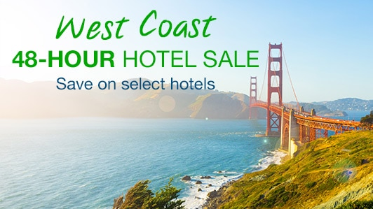 48-hour hotel sale