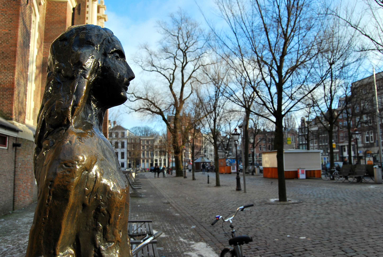 Anne Frank Statue Amsterdam