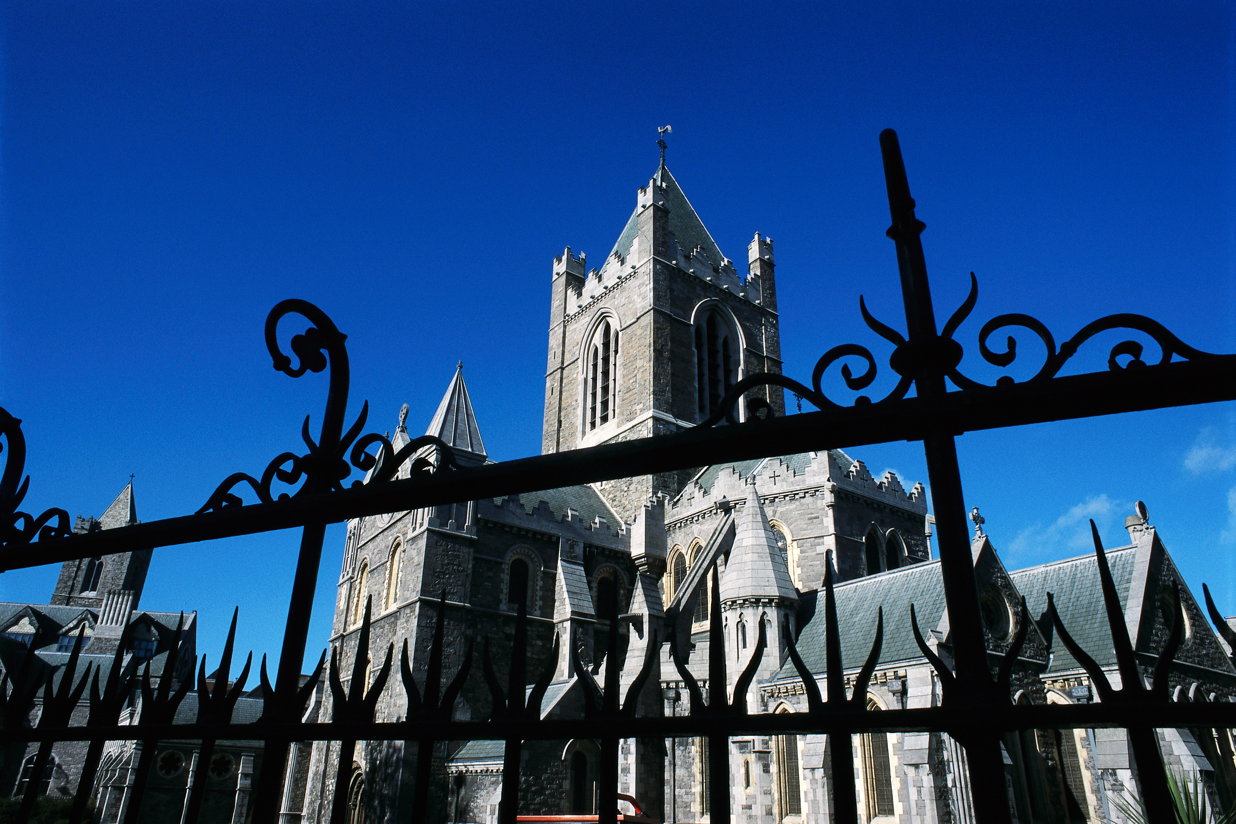 Exterior of Christ Church Cathedral Dublin
