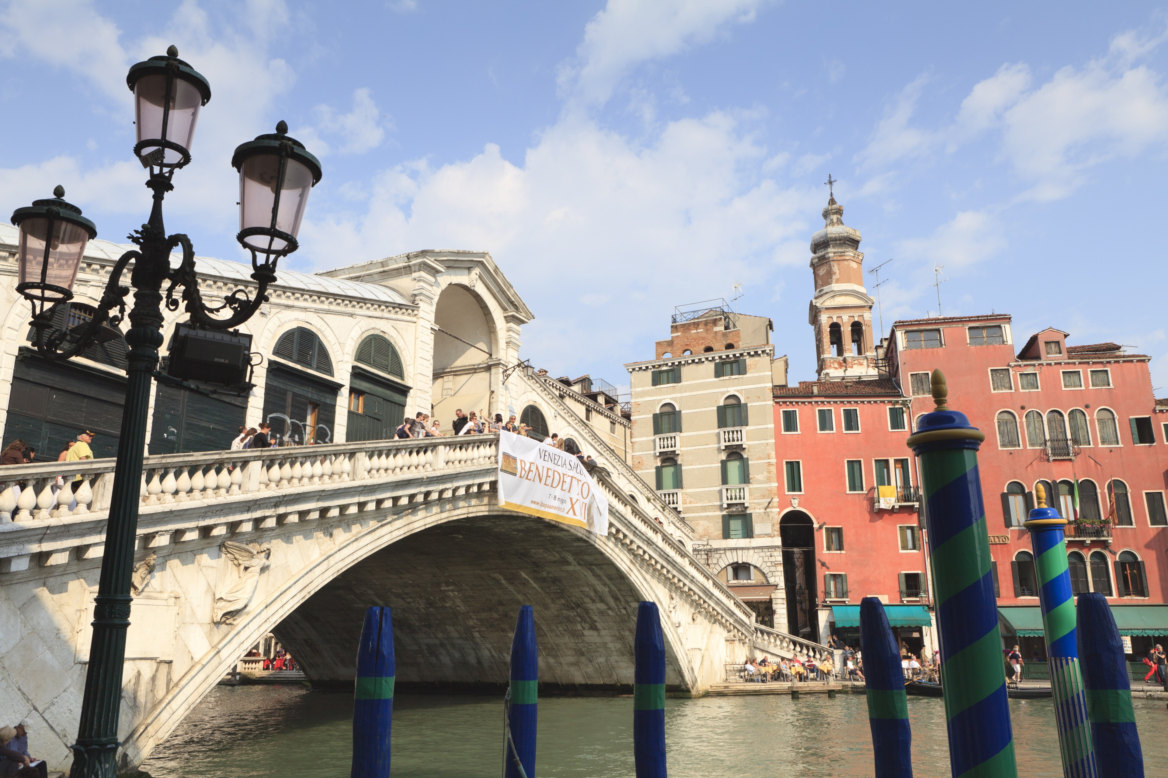 Rialto Bridge-Grand Canal Venice Italy