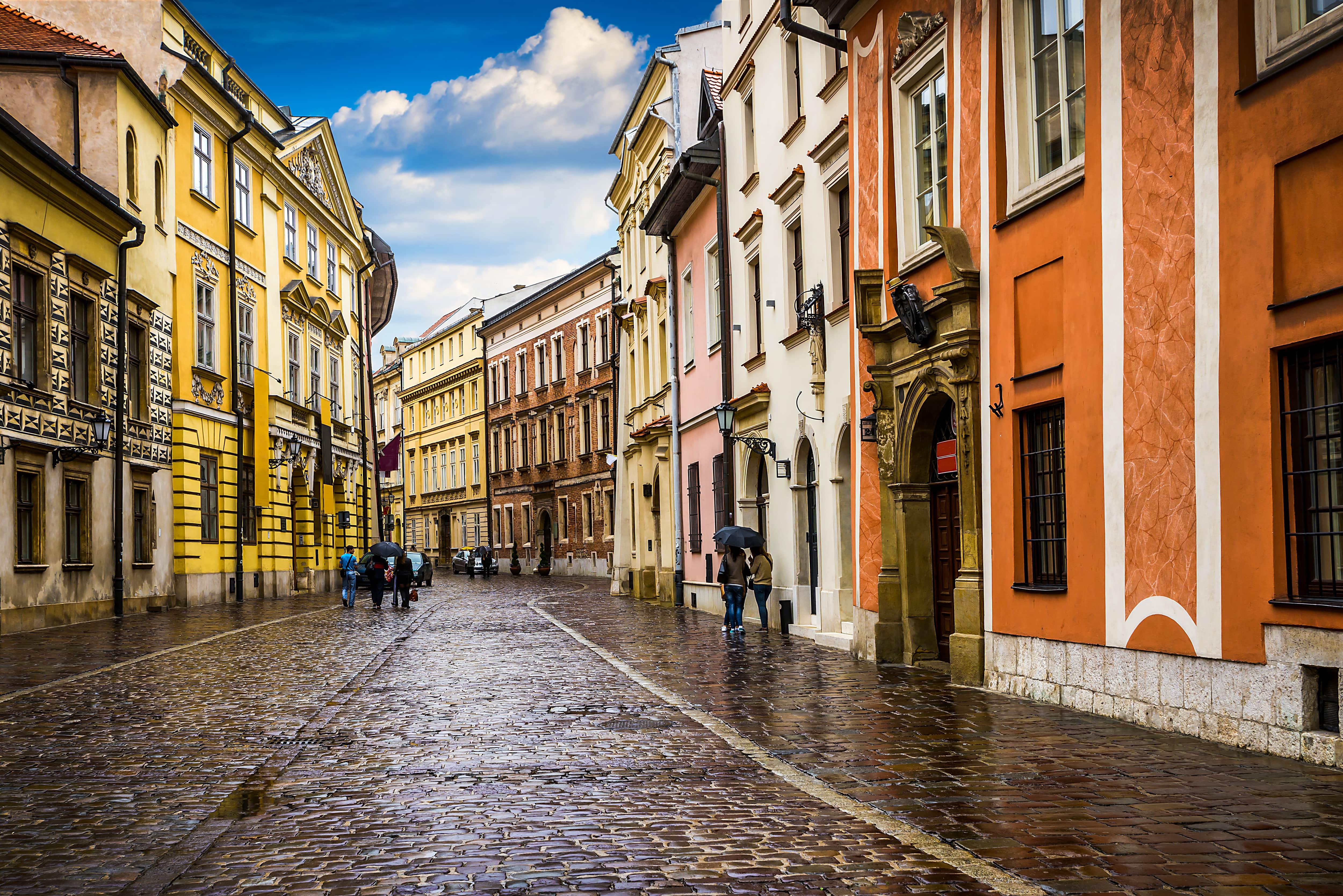 Historic center of krakow