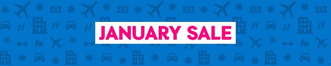 ebookers January Sale