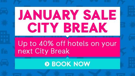 January Sale ebookers