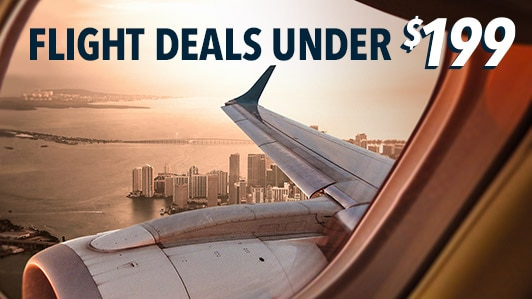 Flight Deals Under 199 Cheap Flights Roundtrip
