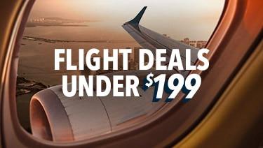 Flight Deals Under $199