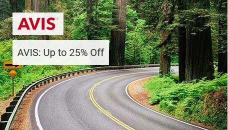 AVIS: Up to 25% Off