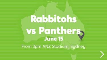 Wotif Search Engine: Rabbitohs vs. Panthers