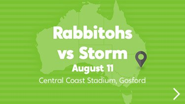 Wotif Search Engine: Rabbitohs vs. Storm