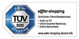 Expedia TUV-Zertifikat