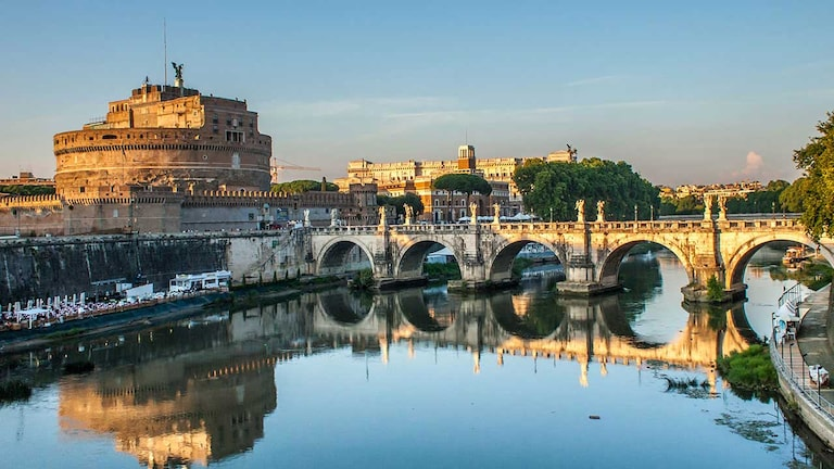 castel sant angelo in Rome Italy