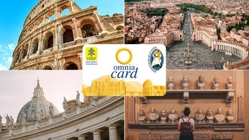 OMNIA Card: 40+ Vatican City & Rome Attractions in 1 Card