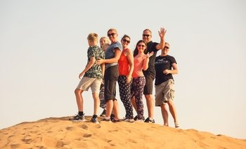 Al Maha Desert Safari Experience with BBQ Dinner