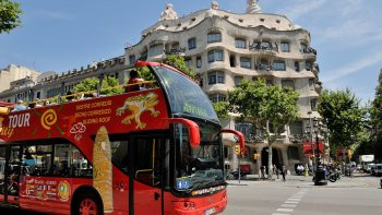 Tour in autobus hop-on hop-off di Barcellona