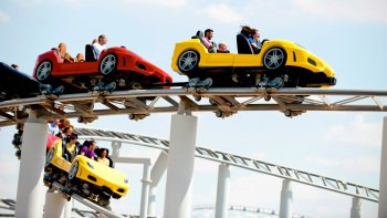 Abu Dhabi Ferrari World & Yas Waterworld Combo Tickets