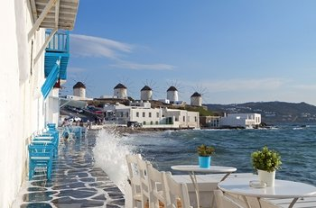 4-Day Mykonos & Santorini Greek Islands Trip from Athens