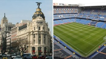 Combo: City Highlights Tour & Admission to Bernabeu Stadium