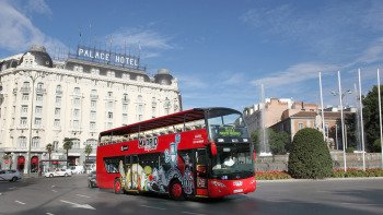 Madrid City Tour, Hop-On Hop-Off Bus