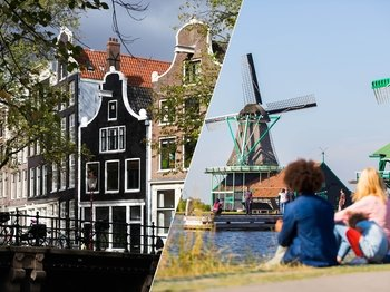 Amsterdam Sightseeing & Dutch Countryside Tour with Cheese Tasting