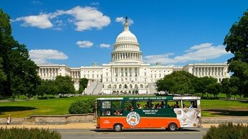 Old Town Trolley Hop-On Hop-Off Tour with Arlington National Cemetery