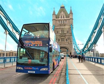 Hop-On Hop-Off Bus Tour with Optional River Cruise & Walking Tours