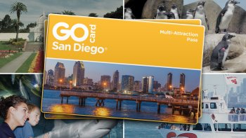 Go San Diego Card: 40 Attractions in 1 Card