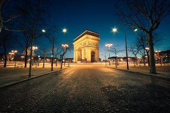 City Night Tour with Seine River Cruise & Dinner