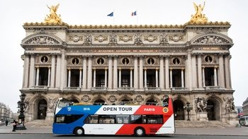 Open Tour Paris Hop-On Hop-Off Bus