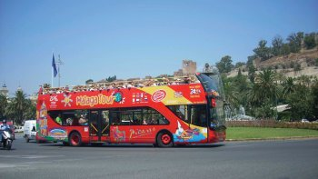 Malaga Hop-On Hop-Off Bus Tour